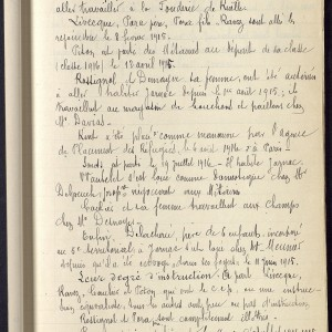 Les réfugiés belges en Charente d'après les carnets d'instituteurs de Charente. (Archives départementales de la Charente 4 Tp 486 - www.archives16.fr)