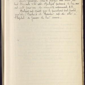 Les réfugiés belges en Charente d'après les carnets d'instituteurs de Charente (suite). (Archives départementales de la Charente 4 Tp 486- www.archives16.fr)