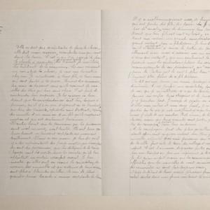 Épreuve de rédaction à l'examen du Certificat d'Études Primaires Élémentaires de 1918, suite. (Archives départementales de la Vienne 3 T 393.)