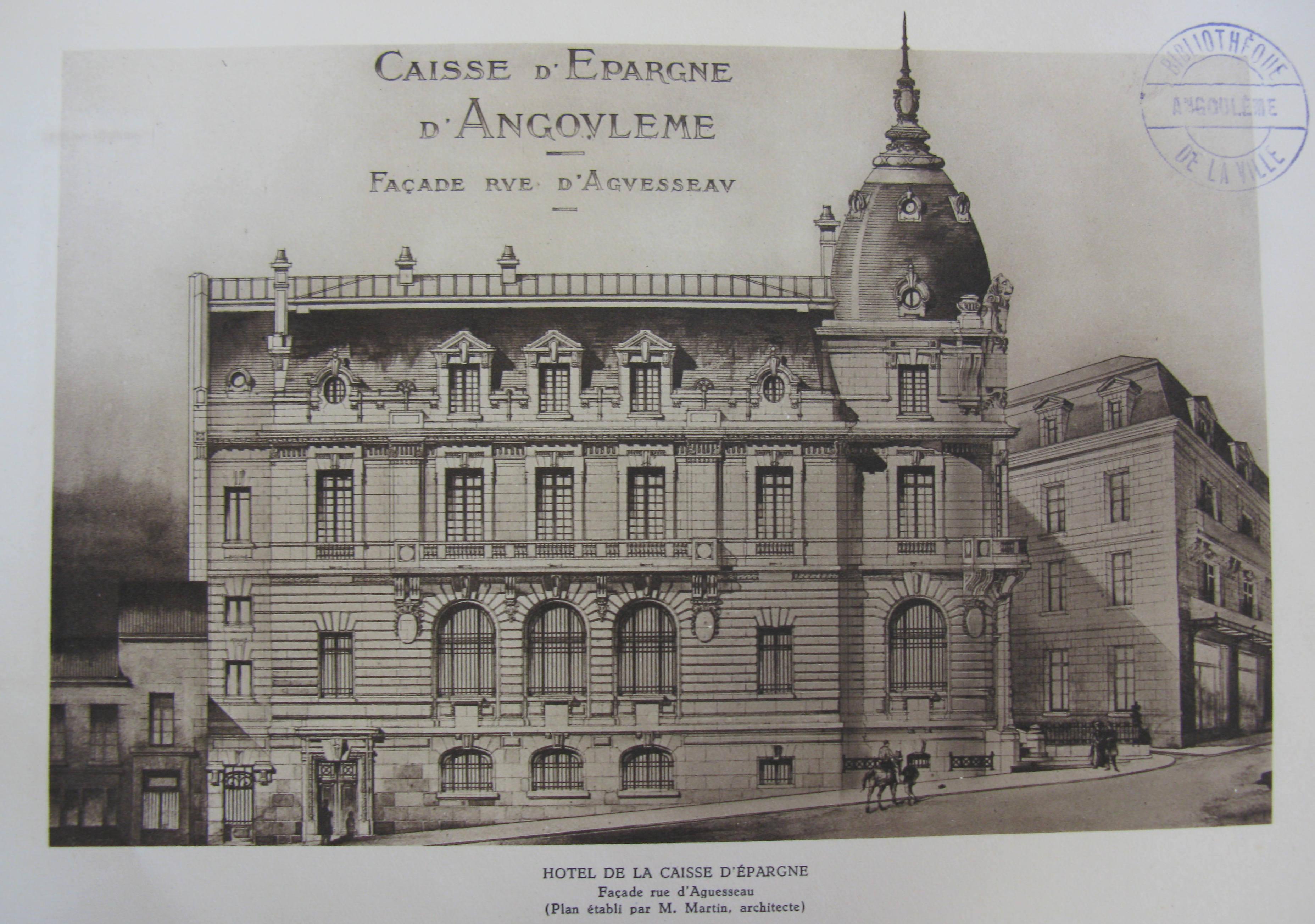 Caisse d'épargne d'Angoulême Le siège social de cette 38e  ~ Caisse D Epargne Rosny Sous Bois