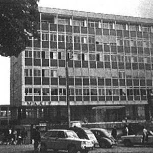 Bâtiments de la MAAIF dans les années 1970. Archives de la MAIF.