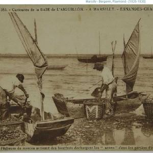 Boucholeurs à Marsilly (Charente-Maritime). Archives départementales de la Charente-Maritime, 24 Fi Marsilly 1.